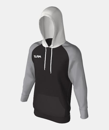Unisex QuickPLAY Cut & Sew Kangaroo Pocket Pullover Hoodie